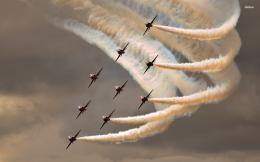 Fighter Jet Airshow Aircraft HD Wallpaper 643