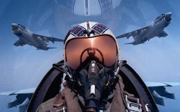 Fighter Jet Pilot – HD iPhone Wallpaper 1599
