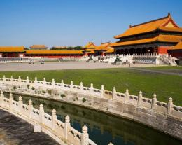1920x1440 pixel Desktop Wallpapers : Beijing Forbidden City Moat China 1207
