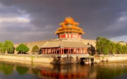 Beijing Forbidden City Moat Wallpaper Image Description 683