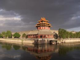 Purple Forbidden City Wallpaper HD 381