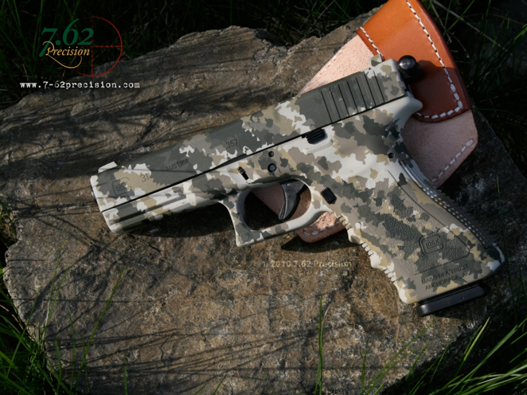 Glock 31 hunt pistol weapon firearm sports HD Wallpaper 378