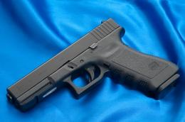 """An early \""""third generation\"""" Glock 17 1965"""