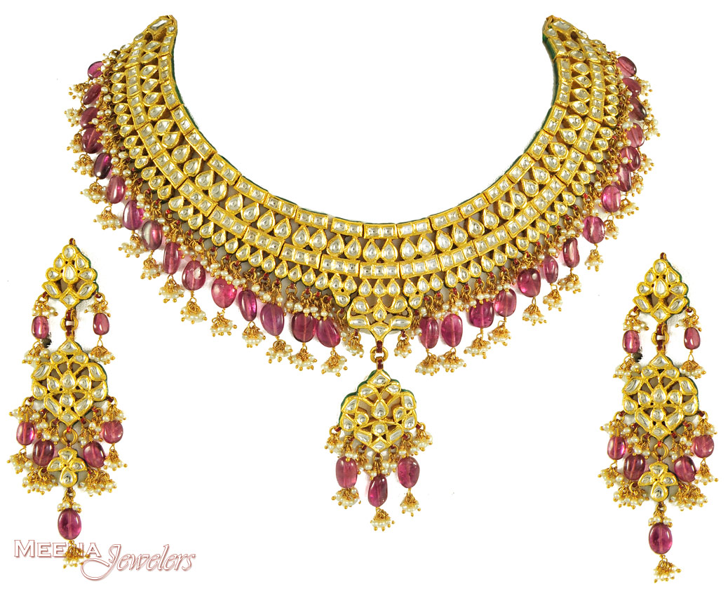Anjali jewellers gold necklace collection - Initiatives Mali