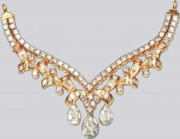 Gold Diamond Jewellery 1190