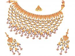 gold jewellery earrings wallpaper gold fashion jewelry design latest 880