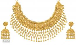 gold jewellery images wallpaper gold jewelry designer bridal necklace 320