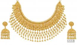 gold jewellery images wallpaper Gold Jewelry Designer Bridal Necklace 250