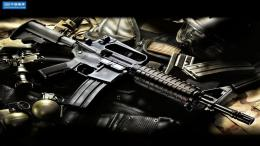 Gun Hd X Free Widescreen Wallpaper with 1366x768 Resolution 868