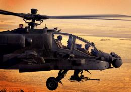 Apache Helicopters Sunset HD Wallpapers 164