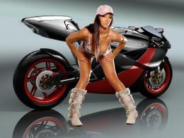 girl with honda bike wallpaper girls with honda bikes wallpaper 1119