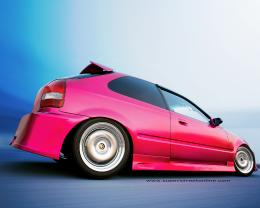 Honda Civic Import Car Wallpaper 1280X1024 1340