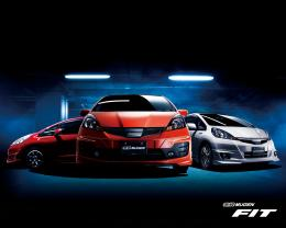 wallpapers: Japanese Tuning carsMugen FitHonda wallpapers 1042