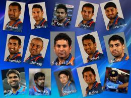 Indian Cricket Team for 2011 World Cup 1403