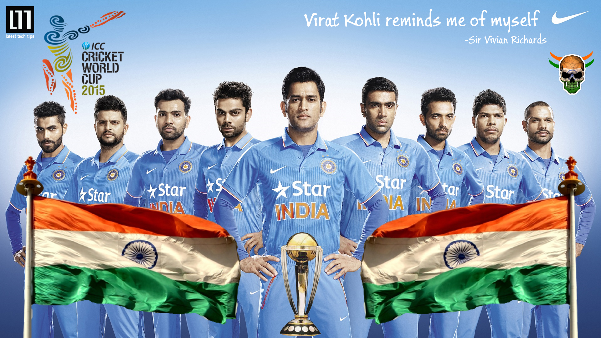 Pledge support for the Indian Cricket team by using this HD wallpapers 1492