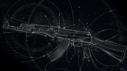 Download wallpaper Kalashnikov: 1325