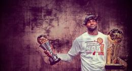 lebron james with trophies lebron james celebrating lebron james 1427