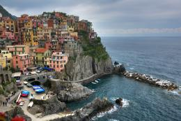 Pin Manarola Italy Toen Sea Cliff Yacht World Free Hd Wallpapers on 1851