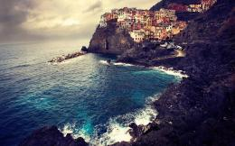 manarola italy beach hd wallpaper for wide desktop background download 1040