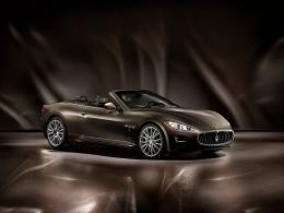 2012 MASERATI GranCabrio Fendi Car Desktop Wallpapers 862