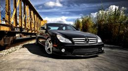 Black Mercedes Benz CLS HD Car Wallpapers 1657