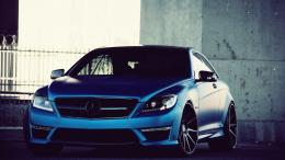 Mercedes Benz Blue HD wallpapers 1693