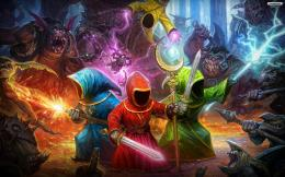 magic warriors wallpaper animated desktop Backgrounds jpg 1842