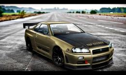 Nissan Skyline GTR HD Wallpapers 1710
