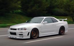 Nissan Skyline GTR R34 Car High Definition Wallpapers 865