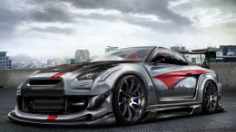 Nissan Skyline GTR R35 Desktop Wallpaper 1258