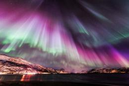 Northern lights nature colours sky 1103