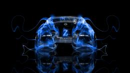 Nissan 350Z JDM Tuning Fire Abstract Car 2013 1943