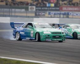 350z racing drifting falken tires nissan skyline r34 Art HD Wallpaper 991