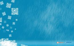 1440x900 April rain blue desktop PC and Mac wallpaper 1437