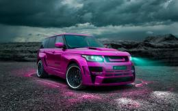 pink colored range rover car range rover car range rover beautiful 1894