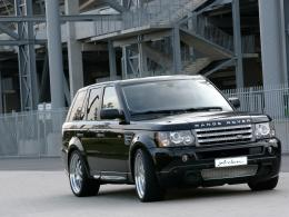 Car wallpapers Range Rover Sport Black wallpaper 1141