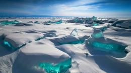 russia, lake baikal, winter, ice, snow wallpapersphotos, pictures 907