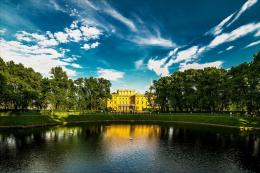, stpetersburg, russia, palace, lake wallpapersphotos, pictures 507