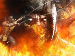 scorpion in mortal kombat high definition wallpaper for desktop 1073