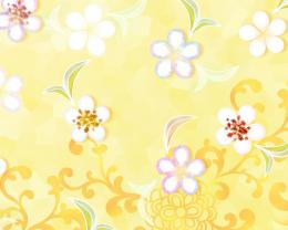 Spring flowers yellow background hd Wallpaper and make this wallpaper 1840