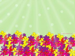 Download free abstract spring flowers wallpaper for your desktop, web 1430