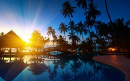 Tropical Island Thailand Sunrise WallpaperHD Background 1164