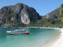phi phi beach thailand hd wallpaper phi phi beach thailand 1461