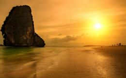 beach wallpapers sunset beach wallpaper thailand krabi wallpapers 977