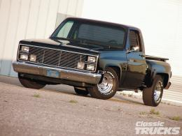 Classic cruisers truck 1983 bowtie cars HD Wallpaper 1330