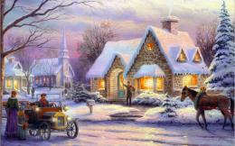 Winter Painting HD Wallpapers | Winter Pictures | Cool Wallpapers 974