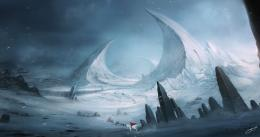 fantasy art winter wallpaper | HD Wallpapers Desktop 968
