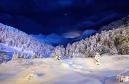 Winter Painting HD Wallpapers | Winter Pictures | Cool Wallpapers 1385