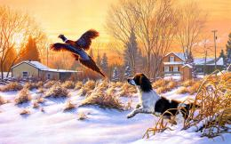 Winter Painting HD Wallpapers | Winter Pictures | Cool Wallpapers 1823