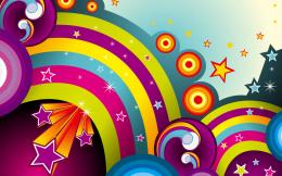Vector Rainbows Wallpapers | HD Wallpapers 1201